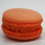 Френски макарон - портокал
