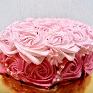 торта роза