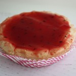 Мини кезе с малини - печен чийз кейк